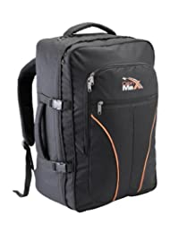 Cabin Max Tallinn - Flight Approved Backpack for Easyjet & Ba Hand Luggage (Black)
