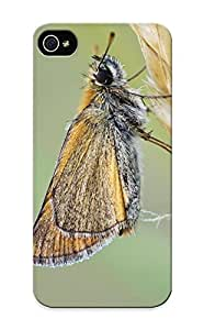 Flyingangela FHCfdr-3331-AUePb Case Cover Iphone 5/5s Protective Case Essex Skipper Butterfly( Best Gift For Friends)