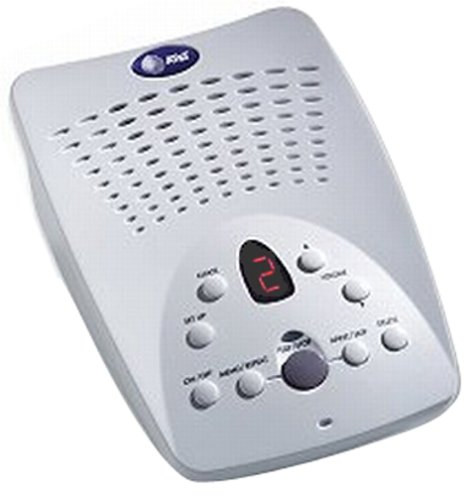 AT&T 1719 Digital Answering Machine with Audible Caller ID by AT&T