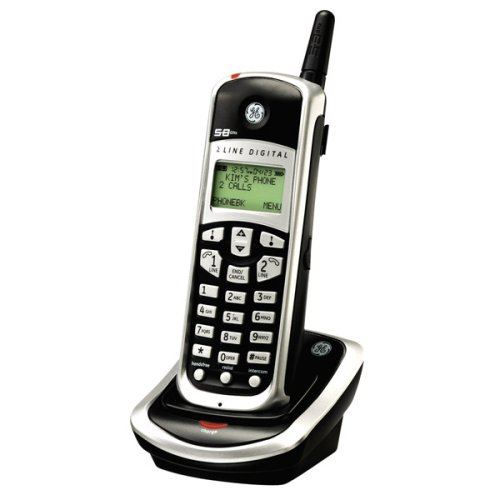GE 25866GE3 5.8GHz - 2 Line Additional Handset For use Wi...