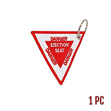 Amazon.com : HOKUGA: Triangle Ejection Seat Key Chain Bijoux ...
