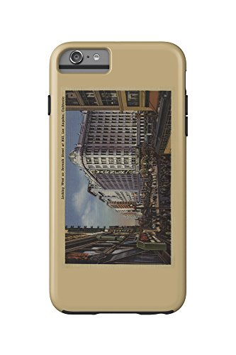 Los Angeles, CA - View of Warner Bros. on 7th St. (iPhone 6 Plus Cell Phone Case Cell Phone Case, - 7th Ca Los St Angeles