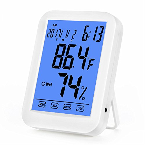 FTRD-TH029 Humidity Monitor Thermometer Gauge Sensor Wireless