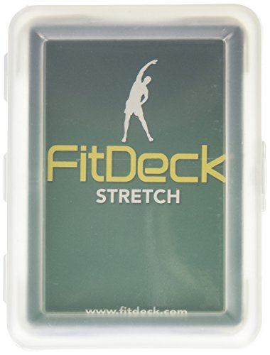 Fitdeck Illustrated Exercise Playing Cards for Guided Workouts, (Gym Deck)