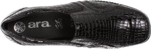 Ara-womens Lucy Slip-on Black Snake