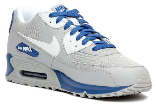 Nike Mens Air Max 90 Essential Grey Blue White 537384-014 8.5 find great sale online amazon cheap online 5G6YcTHEK