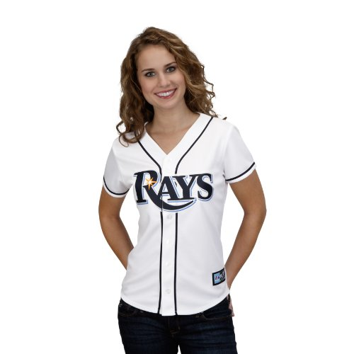 MLB Tampa Bay Rays David Price White Home Replica Baseball Women's Jersey, White, X-Large (Rays Tampa Jersey Devil Bay)