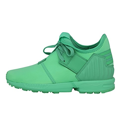 Adidas Originals ZX FLUX PLUS K Grun Kinder Sneakers Schuhe Neu I9WJVPR
