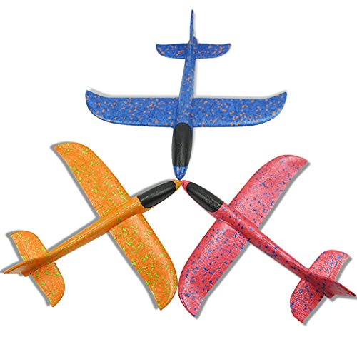 chinaware Brain Game Foam Throwing Glider Airplane Aircraft
