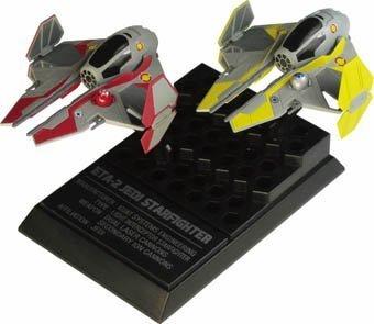 ETA-2 Jedi Starfighters F-Toys Star Wars Vehicle Collection