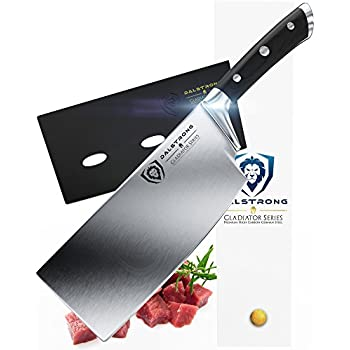 "DALSTRONG Cleaver - Gladiator Series - German HC Steel - 7"" (178 mm) - Sheath"
