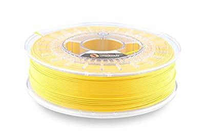 Fillamentum ASA Extrafill Traffic Yellow 2.85mm 3D Printer Filament Filament 0.75kg Spool (1.65 lbs), Diameter tolerance +/- 0.05mm
