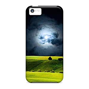 Jeffrehing AJVwhXZ4748YCxYQ Case For Iphone 5c With Nice Dark Fields Appearance
