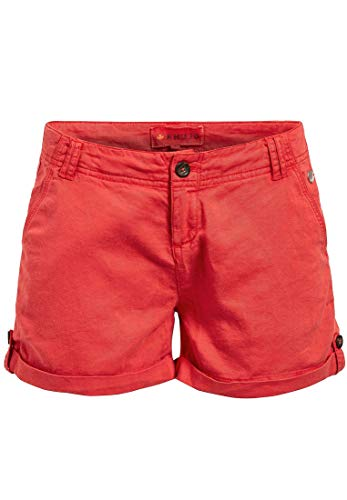 Khujo Pantaloncini Donna Rot Slim Khujo Pantaloncini Slim r4xrqB