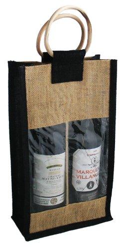 Compra Botellas de Vino Bolsa de yute, botella del paquete ...