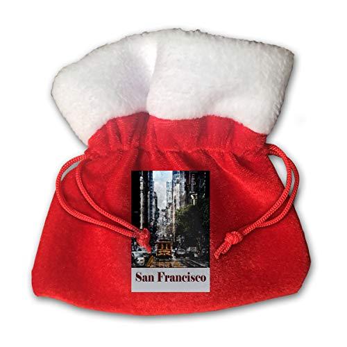 Giants Bean San Bag Francisco (TangChaoFeng Travel Poster San Francisco Gift Pack Christmas Bag)