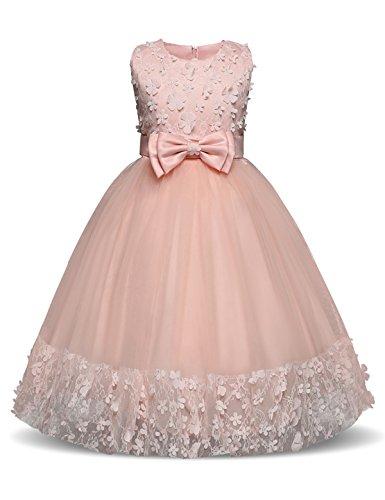 3d embellished flower dress - 2