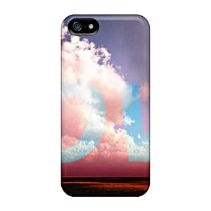 CADike Case Cover Protector Specially Made For Iphone 5/5s Colored Tree