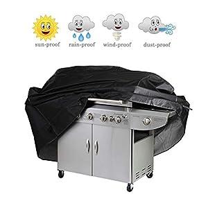 "Wakeach Grill Cover, 67-inch Waterproof Heavy-Duty Premium BBQ Grill Cover Gas Barbeque Grill Cover -(67""Lx24""Dx46""H) Black"
