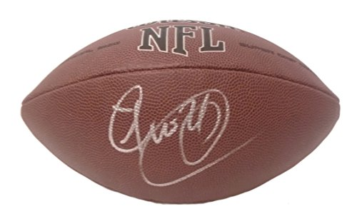 Washington Redskins Josh Norman Autographed Hand Signed NFL Wilson Football with Proof Photo of Signing and COA, Carolina ()