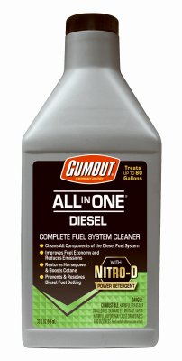 Gumout 510012 All-in-One Diesel Fuel System Cleaner, 32 fl. oz, 1 Pack
