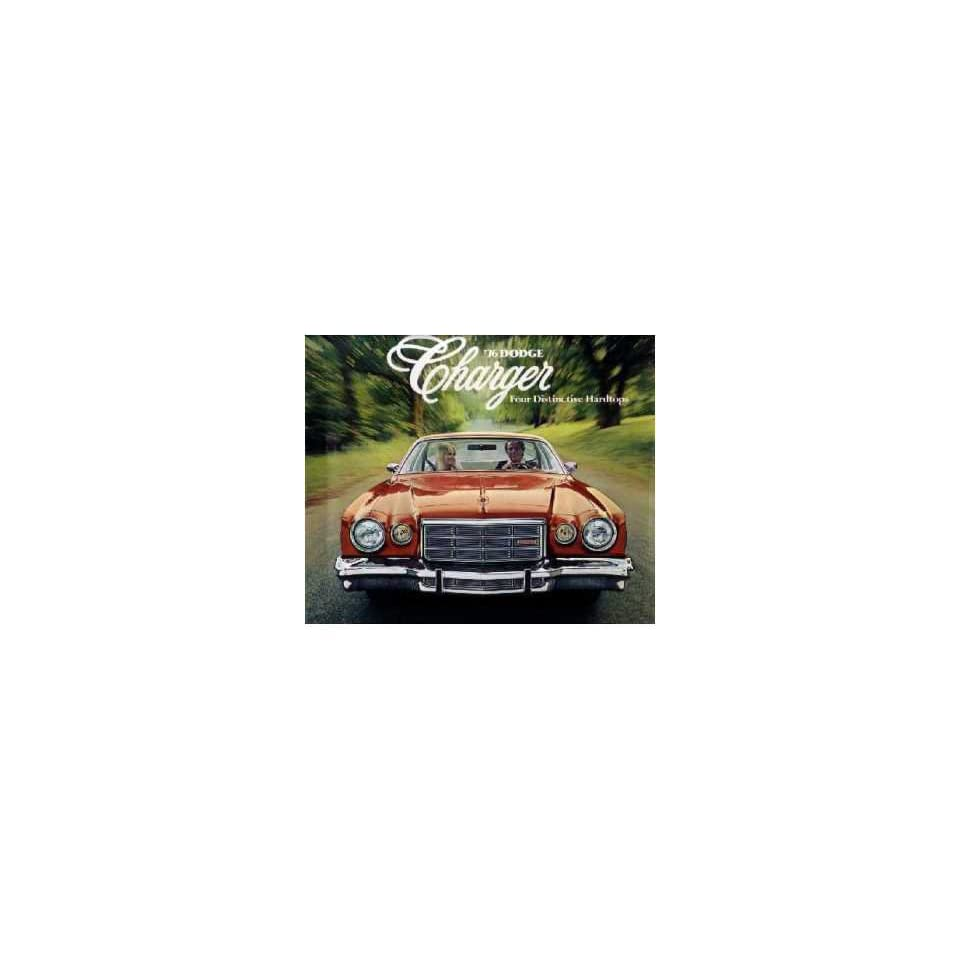 1976 Dodge Charger Sales Brochure Literature Book Piece Dealer Advertisement