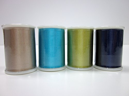 Superior Threads TIRE Brand Silk #50 Embroidery Thread 109 yds Spool Set of 171 Colors 136-01-SET by Superior Threads