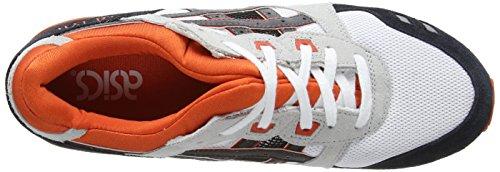 Asics Gel-Lyte III, Scarpe sportive, Unisex - adulto White/Black 190