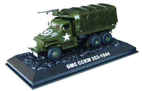 GMC CCKW 353 -1944 diecast 1:72 army truck model (Amercom (Gmc Military Trucks)