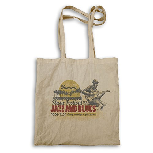 INNOGLEN Jazz Club Havana Jazz y Blues 1954 bolso de mano x849r
