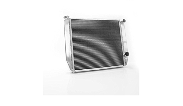 Griffin Radiator 1-28202-X ClassicCool 24 x 19 2-Row Dual Pass Right Universal Import Radiator with 1 Tube