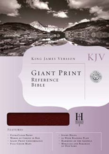 Download KJV Giant Print Reference Bible, Brown/Chocolate LeatherTouch Indexed PDF