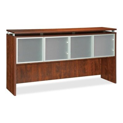 Lorell 68711 Hutch, Alum. Frame, Frost, 66