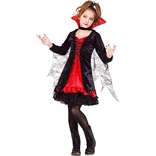Fun World Lace Vampiress Costume