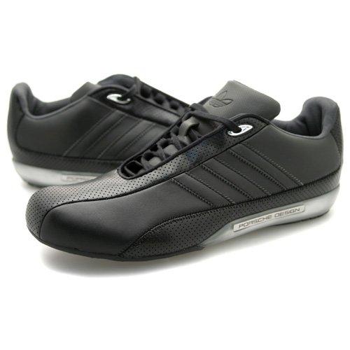 huge sale cfc0f 89ff6 Mens Adidas Porsche Design S2 Black Trainers UK 10.5: Amazon ...