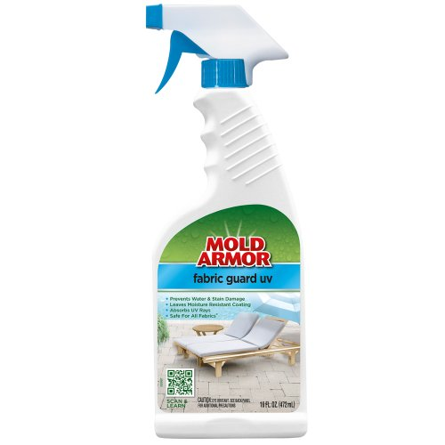 Mold Armor FG538 Fabric Guard UV Trigger Spray, 16-Ounce (Mold Outdoor Cleaning Furniture Cushions)