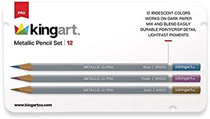 Vivid Colors Piece KINGART 400-50 Glitter 50 Pack with 50/% More Ink /& Soft Artists Soft Grip Gel Pens Set of 50