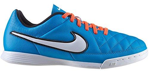 Nike Jr. Tiempo Genio IC Unisex-Kinder Fußballschuhe Blau