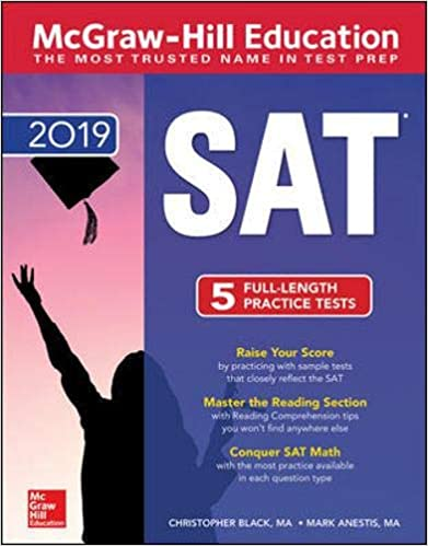 McGraw-Hill Education SAT 2019 1st Edition