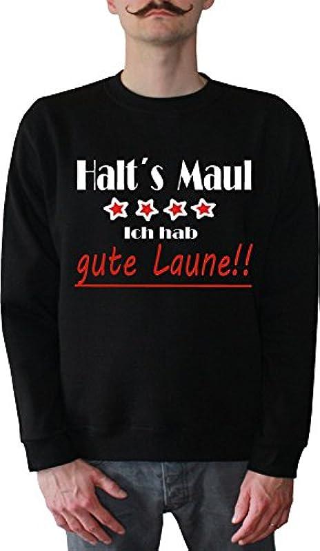 Mister Merchandise męski sweter z kapturem dobry humor – dobrą przyczepność LED's Maul sweter sweter z nadrukowanym: Odzież