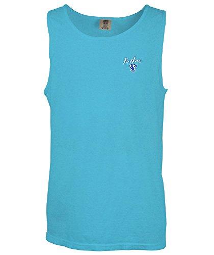 (NCAA Eastern Illinois Panthers State Born & Raised Comfort Color Tank Top, Small,LagoonBlue)