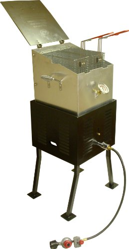 Rectangular Outdoor Propane Cooker - King Kooker 2292