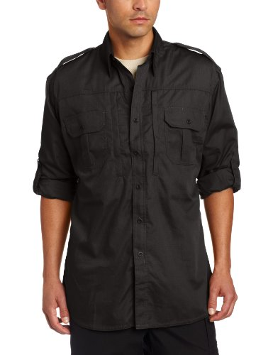 Propper Men's Long Sleeve Tactical Shirt – X-Large – Black