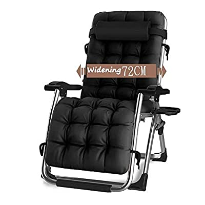 CHAIRQEW Patio Lawn Chairs Reclining for Heavy People