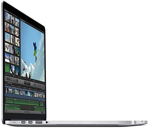 """Apple MacBook Pro MPTT2LL/A - 15"""" Retina, Touch Bar, 3.1GHz Intel Core i7 Quad Core, 16GB RAM, 1TB SSD - Silver (Renewed)"""