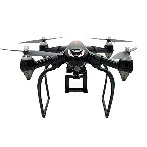 Extended Landing Gear and Camera Holder with Gimbal Kit for MJX B2W B2C Bugs 2 RC Quadcopter (Color: Black)