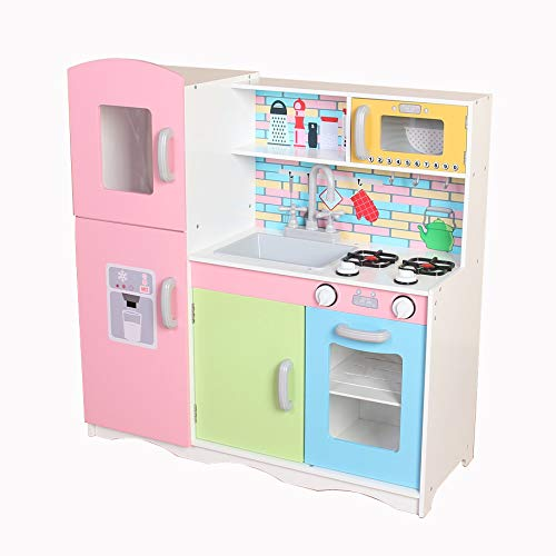Kiddi Style Superior Little Lady Helpers Ultimate X Large Childrens Kids Pretend Play Toy Wooden Kitchen Buy Online In India At Desertcart In Productid 92923873