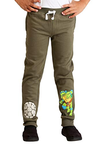 Boys TMNT 2-Pack Turtle Power Fleece Pants Size 7]()