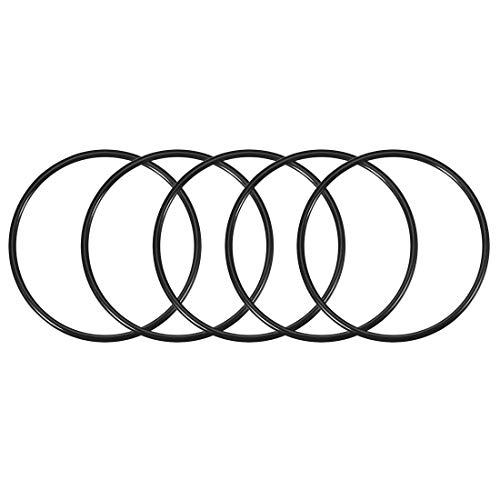 5 O-rings 92mm x 100mm x 4mm para bombas y filtros de agua