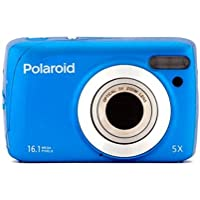 Polaroid IS827-BLU-FHUT 16 Digital Camera with 3-Inch LCD (Blue)